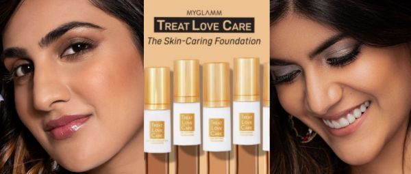 TREAT LOVE CARE, best skin care foundation, MyGlamm Treat Love Care Foundations, Foundations