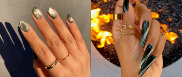 Get On The Velvet Train: This New Nail Trend Has Got Us Screaming For More