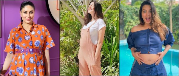 How to look stylish in pregnancy, Maternity Wear, Bollywood inspired Maternity Wear, Stylish Maternity Wear