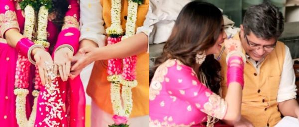 This Bollywood Writer Just Said 'I Do'  & We Are Bookmarking Her Gulabi Anarkali