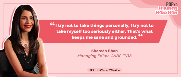 CNBC-TV18 Managing Editor Shereen Bhan On BTS Of A Newsroom & Life Beyond The Studio