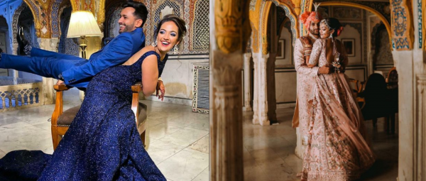 This Bride & Groom Made The Filmiest Entry Ever & We're Watching Their Videos On Loop
