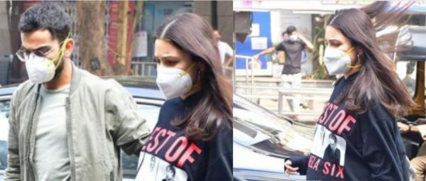 Mom-To-Be Anushka Sharma Continues Her Comfy Maternity Style Spree With A Sweatshirt Dress