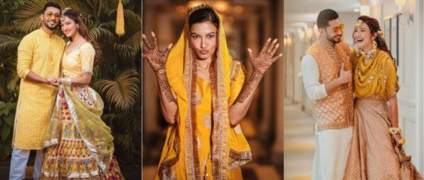 Hey Sunshine! Here's How To Wear Yellow At Your Wedding Just Like Gauahar Khan
