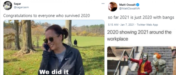 Twitterati Have Already Given Up On 2021 & Of Course They Made Hilarious Memes About It