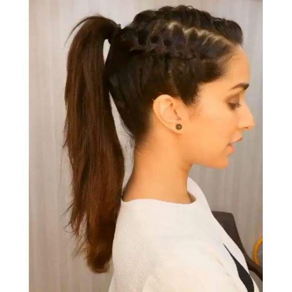 undo the ponytail medium length hairstyle for oval face