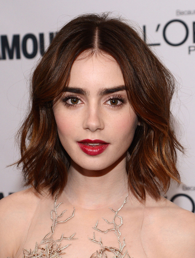 wavy bob hairstyles for oblong face shape