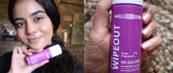 The WIPEOUT Germ Killing Body Spray review