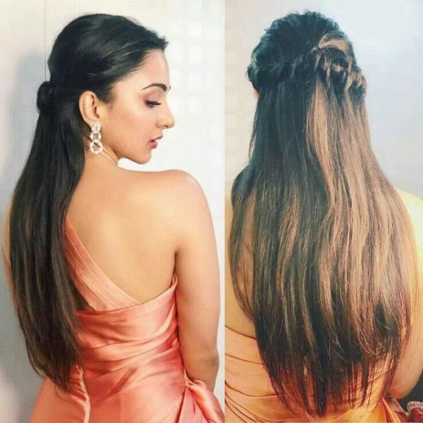 Waterfall Braids for heart shaped face
