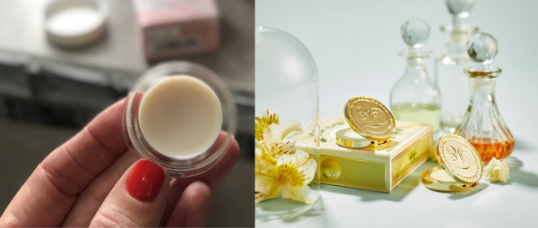 solid perfume, fragrance