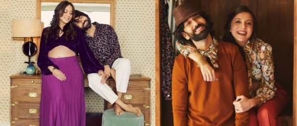 These Pics From Nakuul & Jankee's #BabyOnBoard Photoshoot Will Give You Major Retro Vibes!