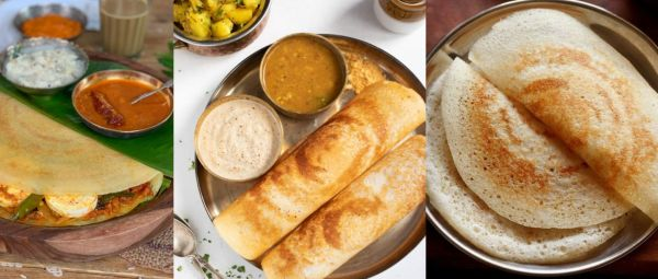 6 Different recipe of Dosa in Hindi