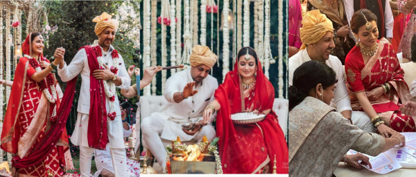 These Unseen Pictures & Videos From The Dia Mirza-Vaibhav Rekhi Shaadi Have Us Floored