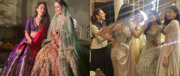 Dressed To Stun, Mira Rajput Is Bridesmaid Goals In These Pics From Her BFF's Wedding