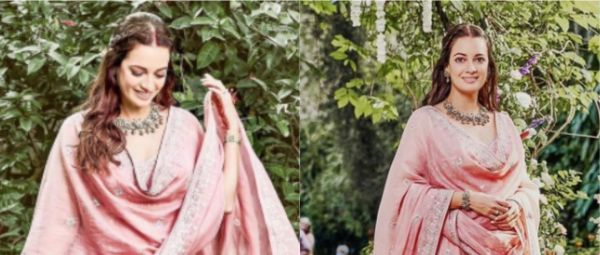 Dia Mirza's New Look From Her Wedding Festivities Is A Definite Hit For Brides-To-Be