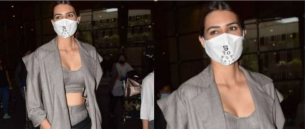 Kriti Sanon Styled Chic Layers For Her Latest Airport Look & We're Seriously Digging Them!