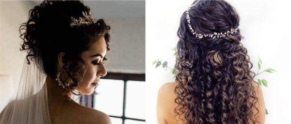 Curly Hairstyles for Wedding 2021