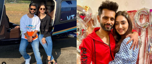 Rahul Vaidya & Disha Parmar Are Winning The Cutest Jodi Award With These Pictures