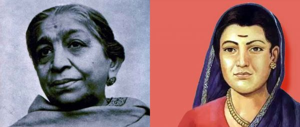 Female freedom fighters of India in Hindi