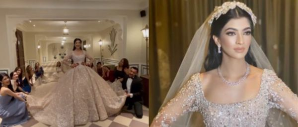 Hot Damn! This Mumbai Bride Looked Like A Real Life Princess In A Fairytale Ball Gown
