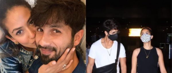 Same But Different: Shahid Kapoor-Mira Rajput Twinned In Recent Look But Here's The Twist!