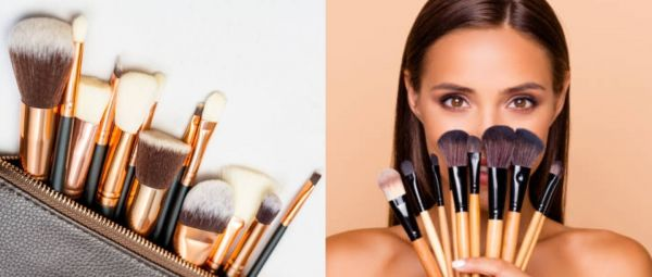 complete guide of makeup brushes, How to use makeup brushes