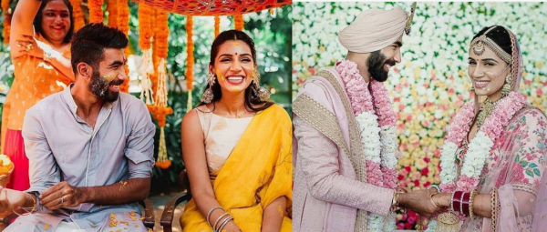 From Sangeet To Haldi: All The Photos From Jasprit Bumrah & Sanjana Ganesan's Goa Shaadi