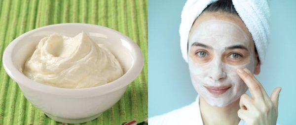 curd face pack recipe for summers, Curd Face Pack, Face Pack