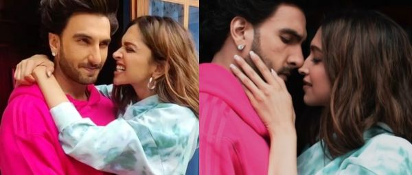 deepika padukone shares bold and romantic video with ranveer singh, Ranveer Singh, Deepika Padukone