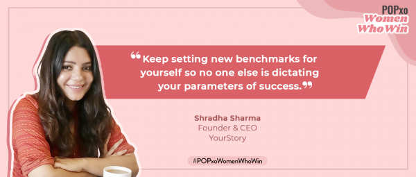 YourStory Founder & CEO Shradha Sharma On The Power Of Getting Up & Showing Up