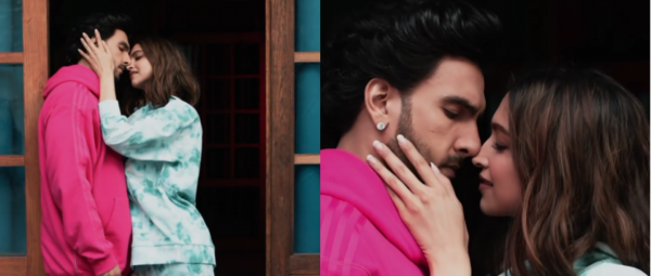 Deepika & Ranveer Gave A Fun Twist To The Silhouette Challenge & We're Watching It On Loop