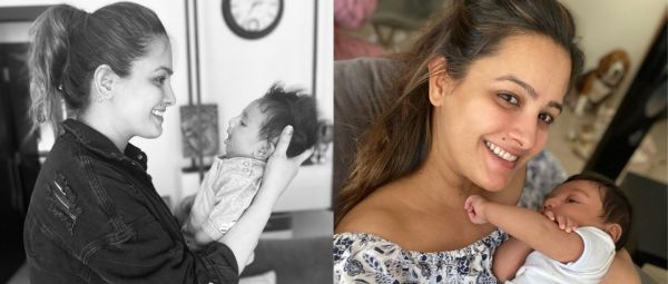 Anita Hassanandani's Newborn Takes After His Beautiful Mom And She Just Posted Proof