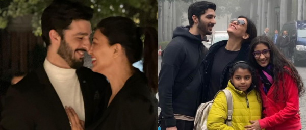 Rohman Shawl Is All Hearts For Sushmita Sen's Real & Reel Life & It's Making Us Mushy AF!