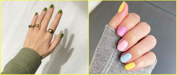 On-Trend Nail Colours