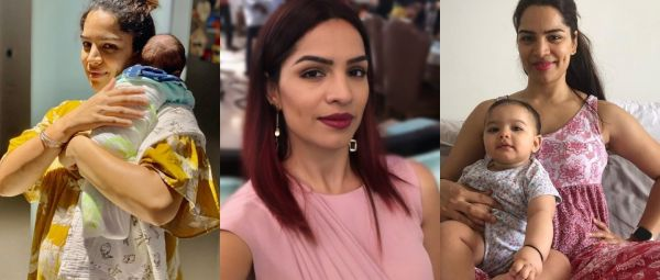 TV Actress Shikha Singh, How to loose belly fat after pregnancy