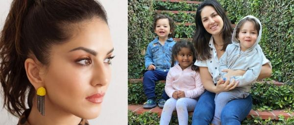 सनी लियोनी, Sunny Leone Feel Stress For Children to third wave of covid 19, third wave of covid 19