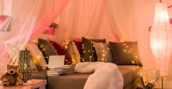 How We Used Old Diwali Lights To Give Our Bedrooms A Makeover!