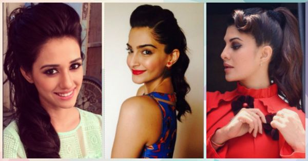 10 Pretty and Chic Ponytails That Look SO Glam!