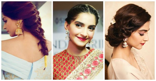 The Prettiest Sonam Kapoor Hairstyles - You'll Fall In LOVE!