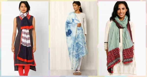 15 Pretty Dupattas You Can Even Style With Western Wear!