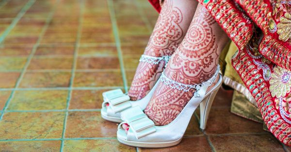 12 Pretty (And Comfy!) Footwear To Wear With Lehenga On Your Wedding Day