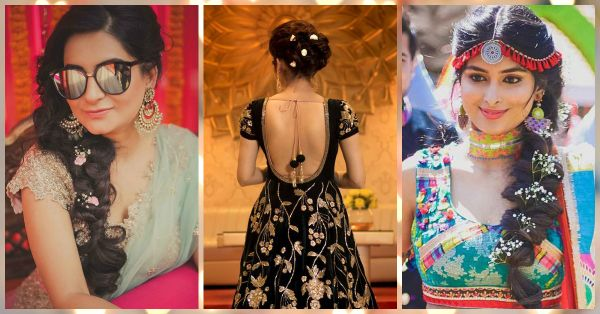 10 *Beautiful* Ways To Add Flowers To Your Shaadi Hairstyles!