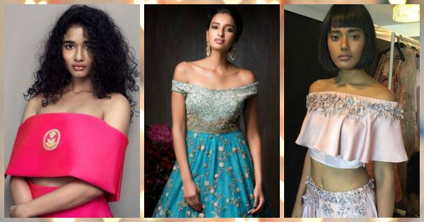 10 Stylish Off-Shoulder Blouse Designs For The Bride-To-Be!