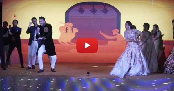 This Girls Vs Boys Wedding Dance Off Is Just SO Cool!