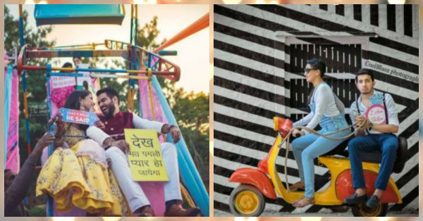 Sassy pre wedding shoot ideas to inspire you!