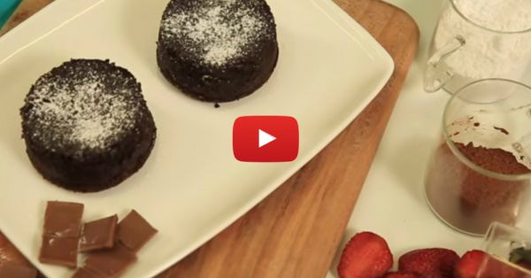 How To Make Domino's Style Choco Lava Cake At Home!