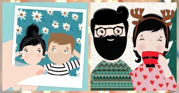 7 Cute Illustrations That Prove You & Your Guy Are The Happiest!