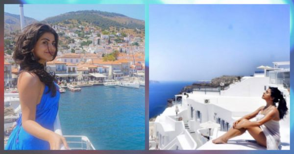 This Celeb's Greek Vacay Will Give You Major #TravelGoals