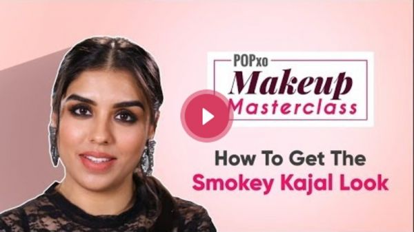 POPxo Makeup Masterclass: How To Get The Smokey Kajal Look - POPxo