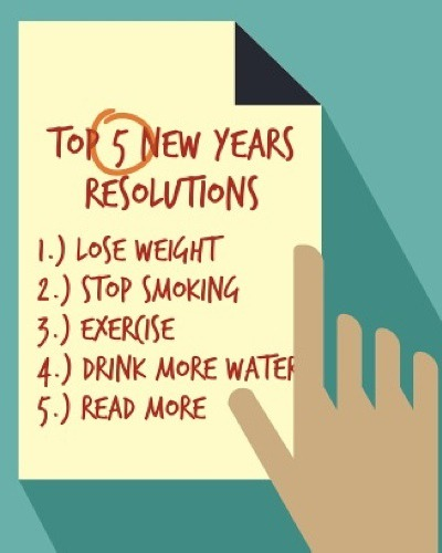 20 New Year Resolutions Everyone Makes But (Almost) No One Ever Keeps!